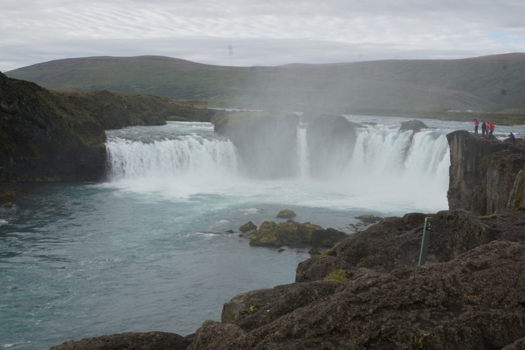 Godafoss, Iceland : A day tour with Air Iceland! Iceland Diamond Circle Tour - Best of North Iceland in a Day with Air Iceland - Photo by Outside Suburbia