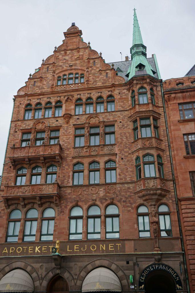 """Apoteket Lejonet (The Pharmacy """"The Lion"""") Malmö´s oldest pharmacy, founded in 1571"""