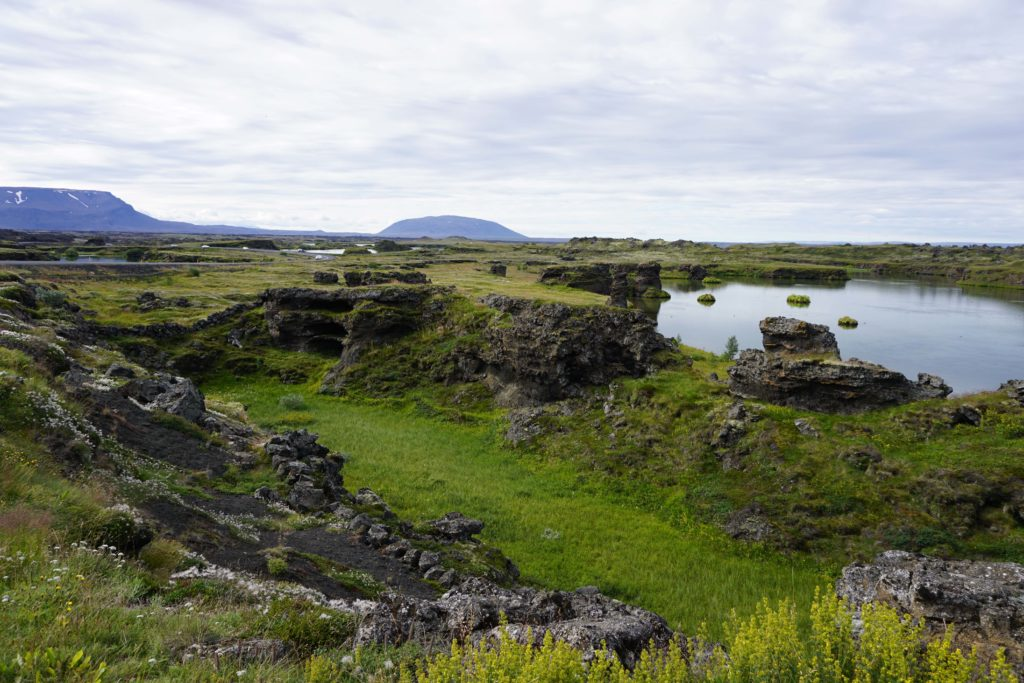 Lake Myvatn, North Iceland : A day tour with Air Iceland!