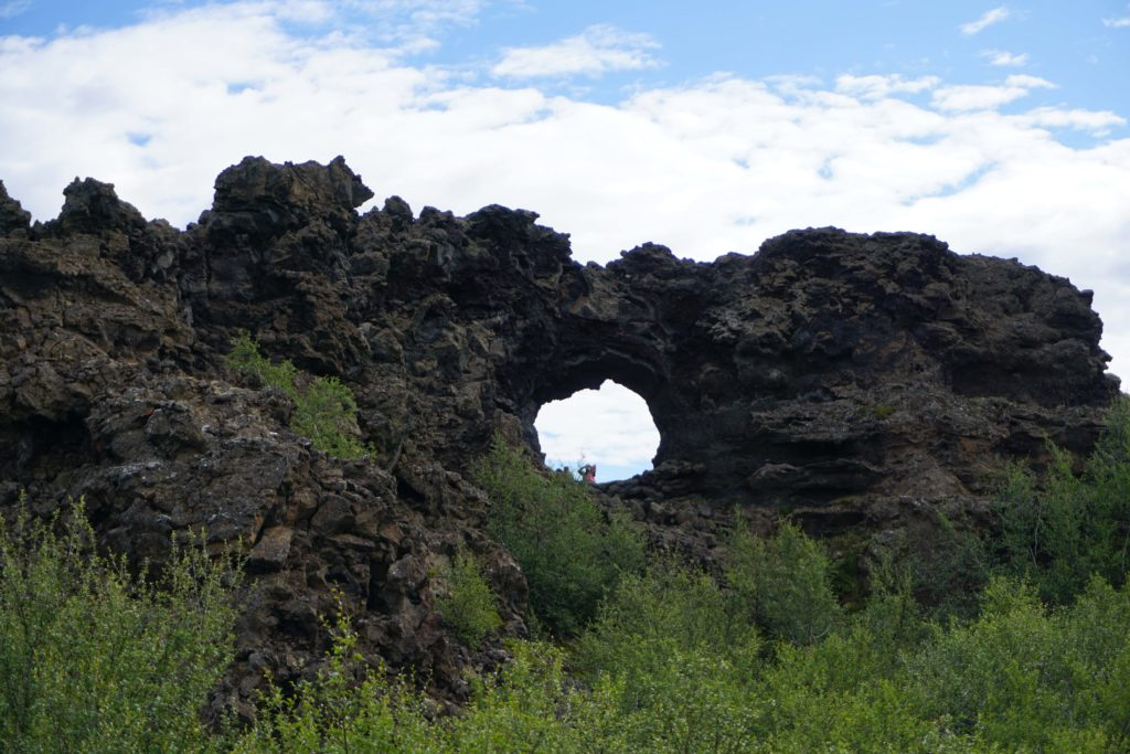 Dimmuborgir - North Iceland : A day tour with Air Iceland!