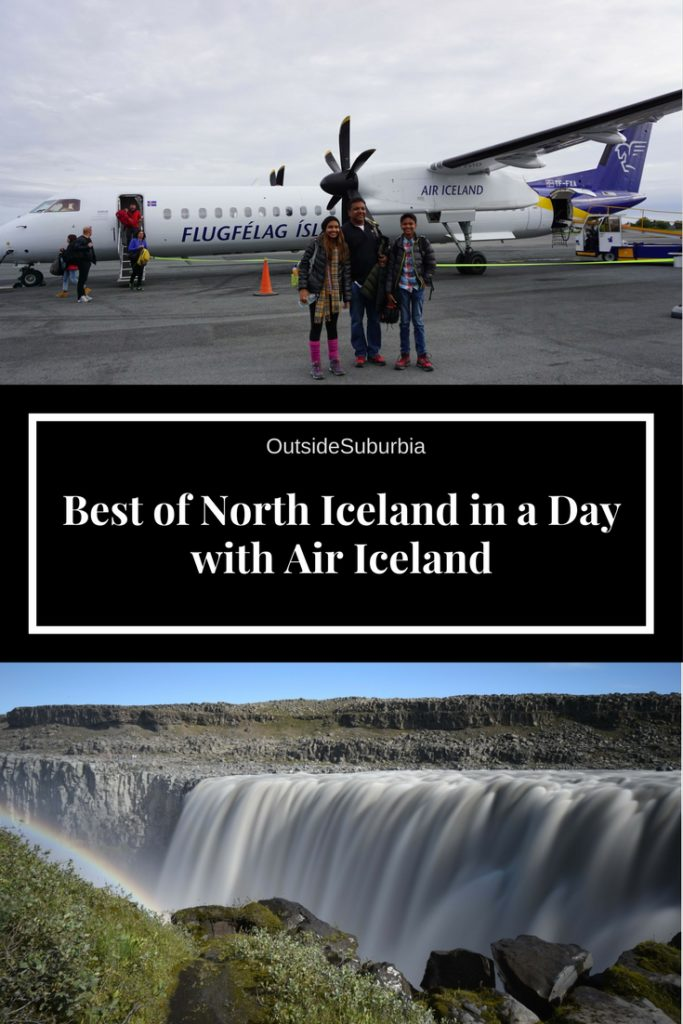 Visiting beautiful areas like Lake Myvatn, Godafoss, Akureyri and other vistas in North Iceland is possible as a day tour from Reykjavikwith Air Iceland #Iceland #DiamondCircleIceland