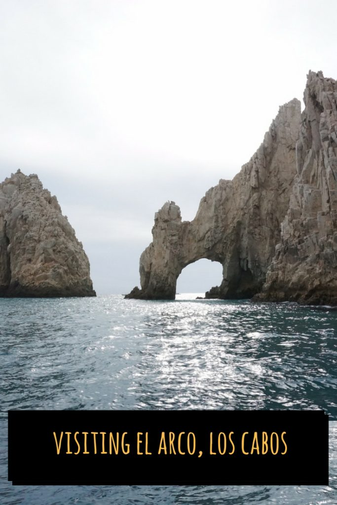 Visiting Cabo? You can't miss visiting the iconic El Arco. See how to make to arrangements for an exclusive boat ride. #CaboBucketlist #ElArco #CaboMexico #LosCabo #OutsideSuburbia #CaboWithKids #CaboMustDos