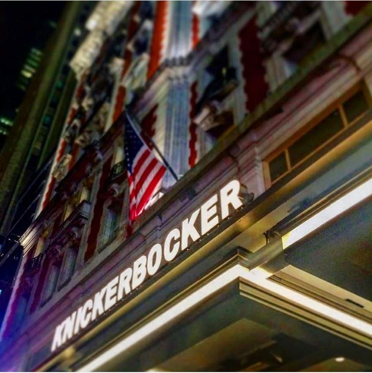 Luxury Times Square Hotel : The Knickerbocker Hotel