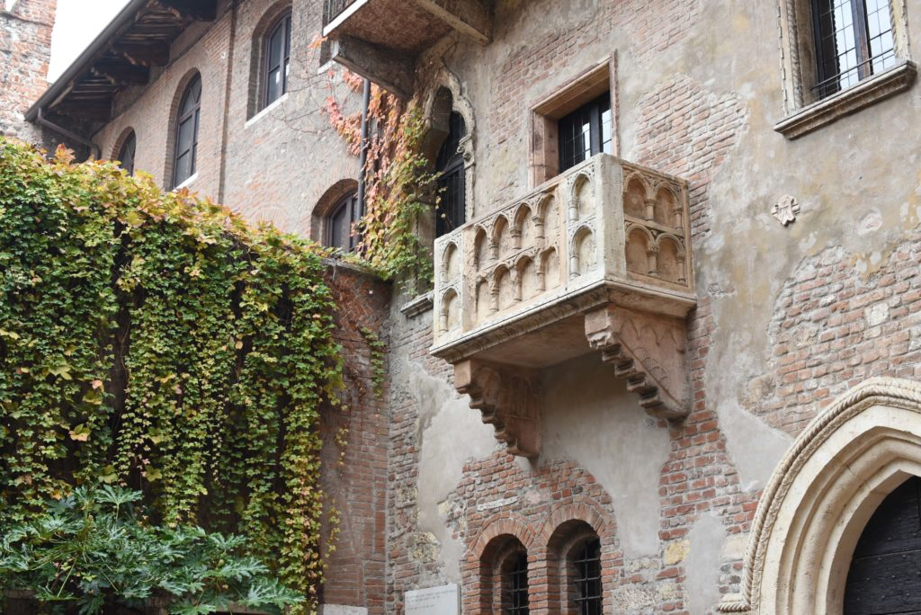 Verona, city of Romance #JulietBalcony