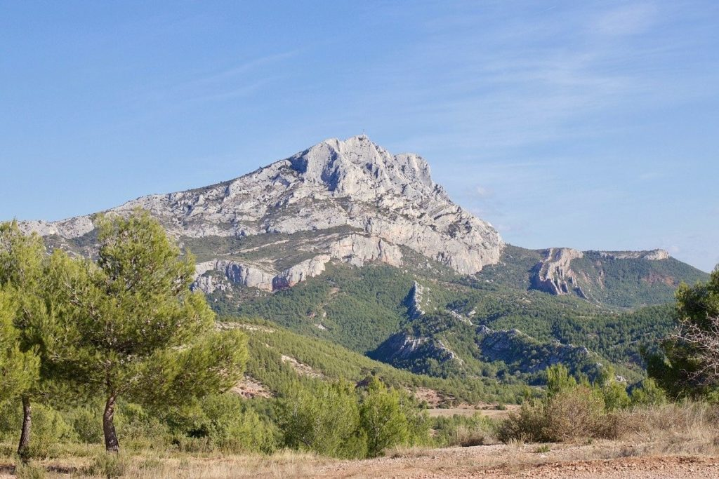 Sainte Victoire Mountain, France