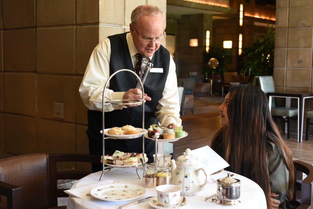 Afternoon Tea at the Arizona Biltmore