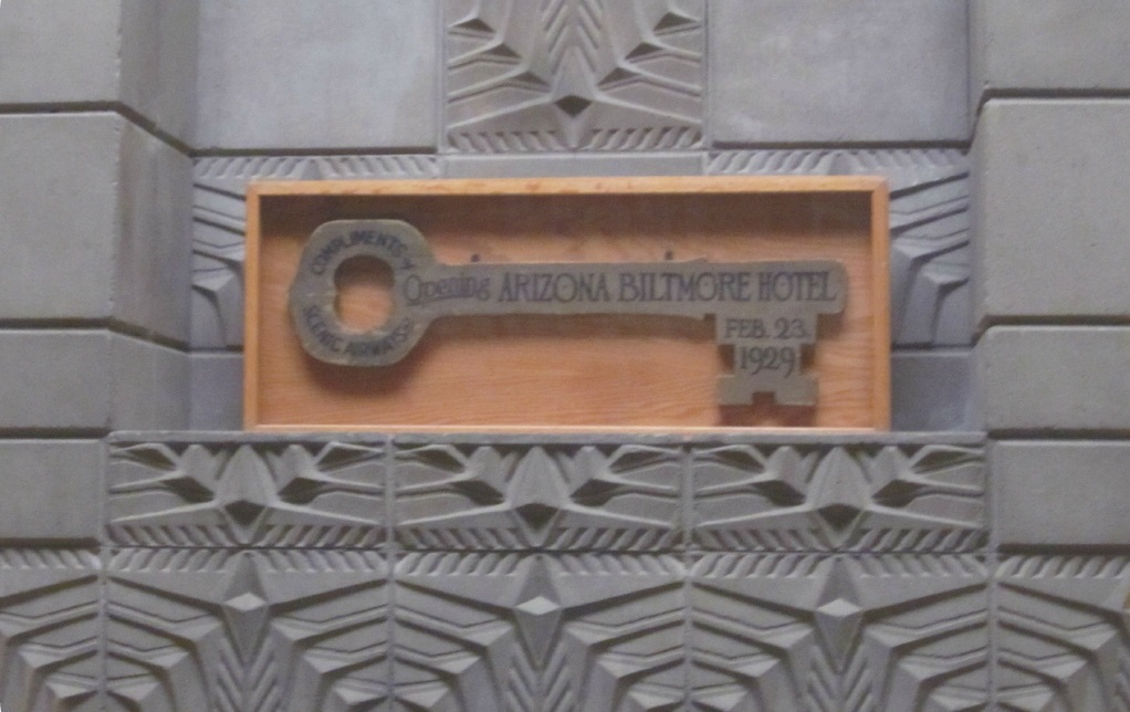 Key to the Arizona Biltmore