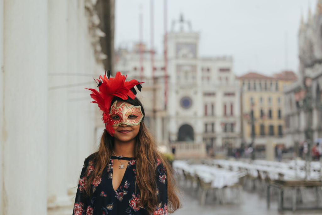 Venice Carnival, Photo by Flytographer for Outside Suburbia