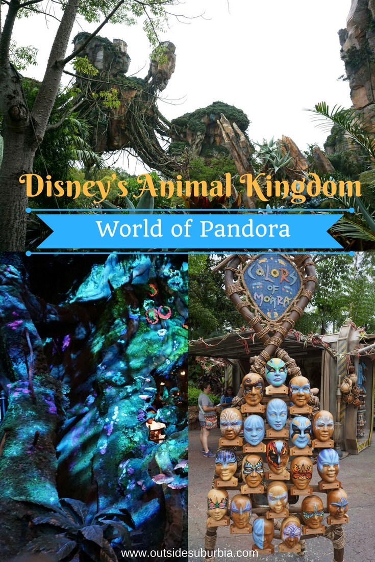 Everything you need to know about best rides and food before walking across the bridge into Pandora, in Disney's Animal Kingdom Park.