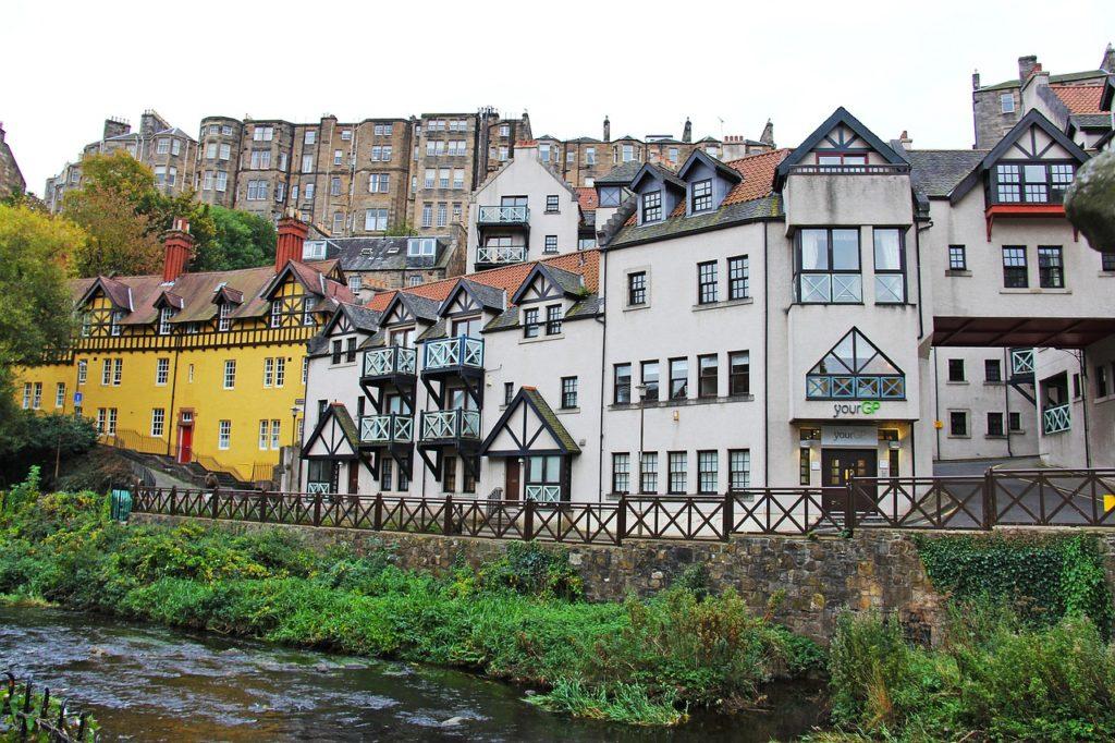 Dean Village Edinburgh, Scotland