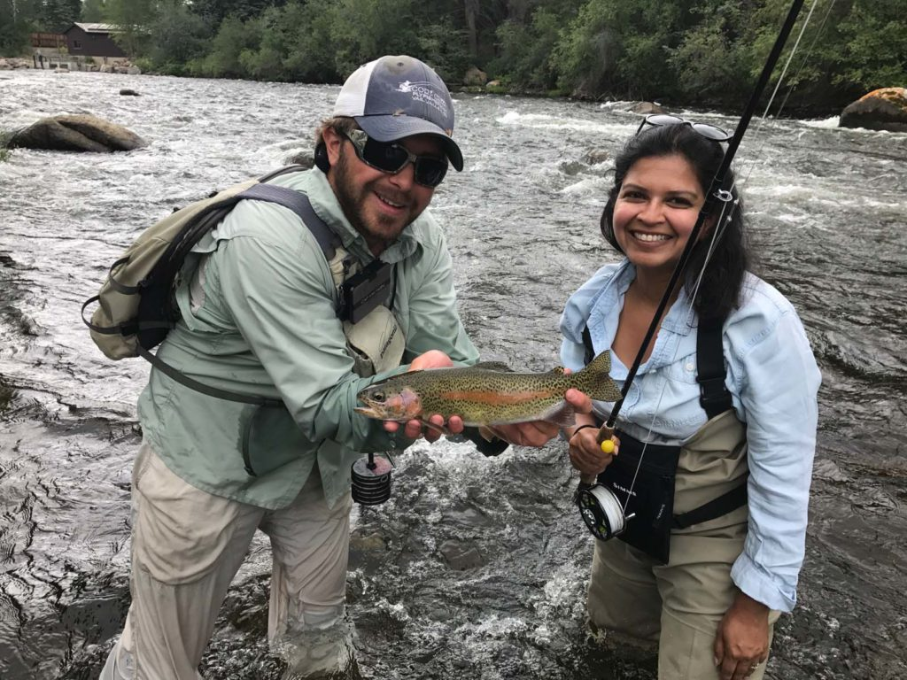 Fly Fishing! Read the article to see why we think Summer is Vail is an Epic Adventure #Vail #Colorado #SummerAdventures