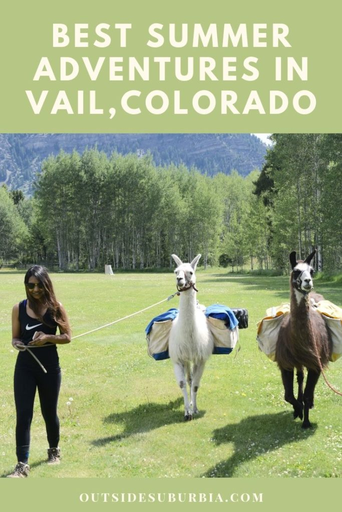 Best Summer Adventures in Vail, Colorado   OutsideSuburbia #VailSummerActivities