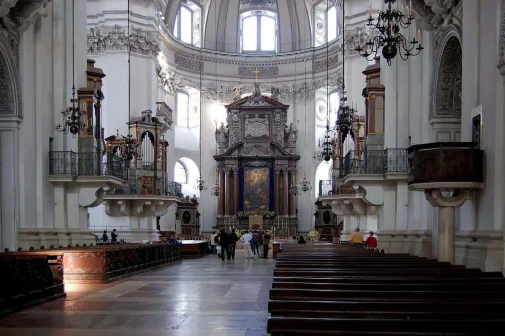 Salzburg Cathedral - One day in Salzburg Itinerary - OutsideSuburbia.com