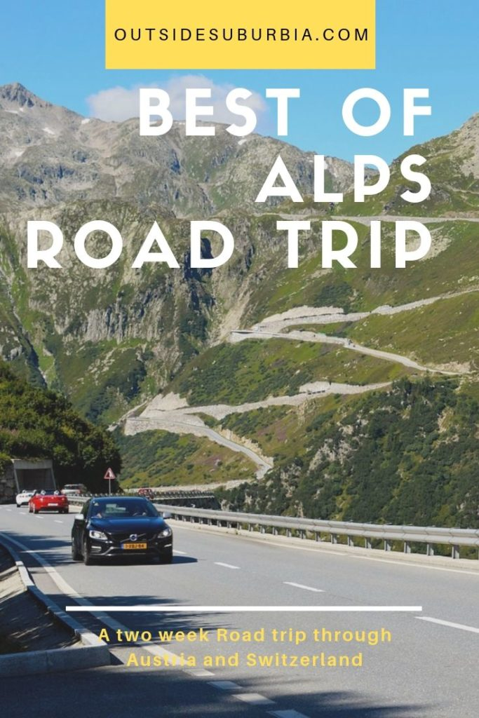 A 2 week road trip through the best of Alps, driving through the little towns of Austria and Switzerland. #Roadtrip #BestOFAlps #SwitzerlandRoadtrip #AustriaRoadtrip