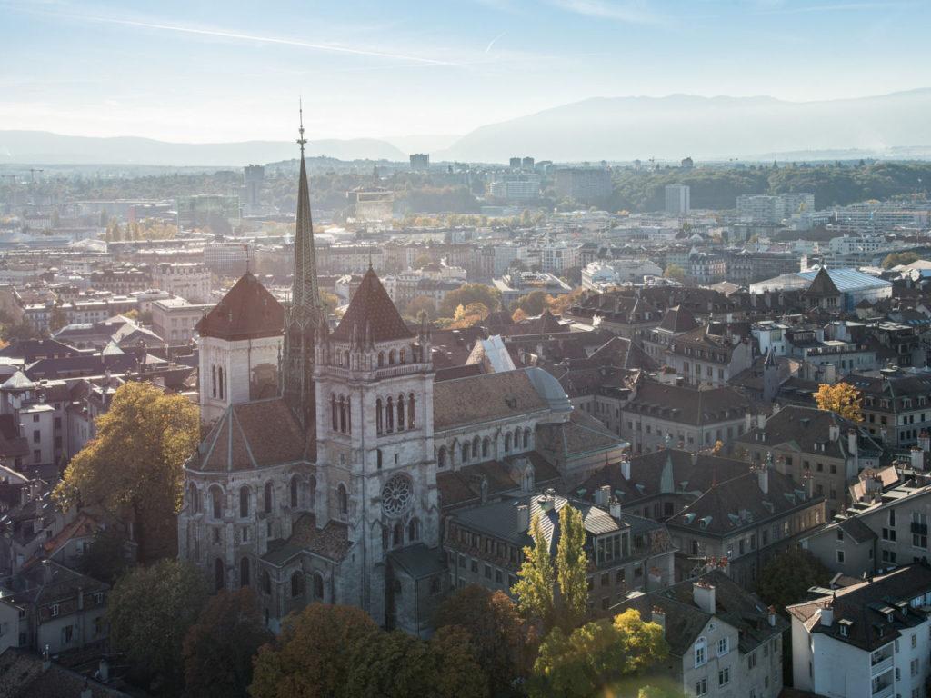 Saint Pierre (St. Peter's) Cathedral, Geneva