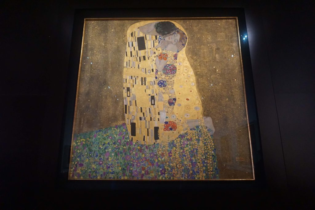 Gustav Klimt : The Golden Kiss and more at the Belvedere