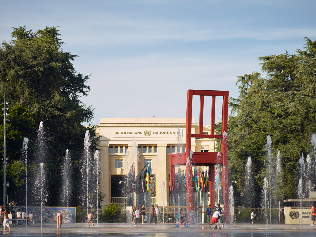 Palais des Nations, the United Nations in Geneva
