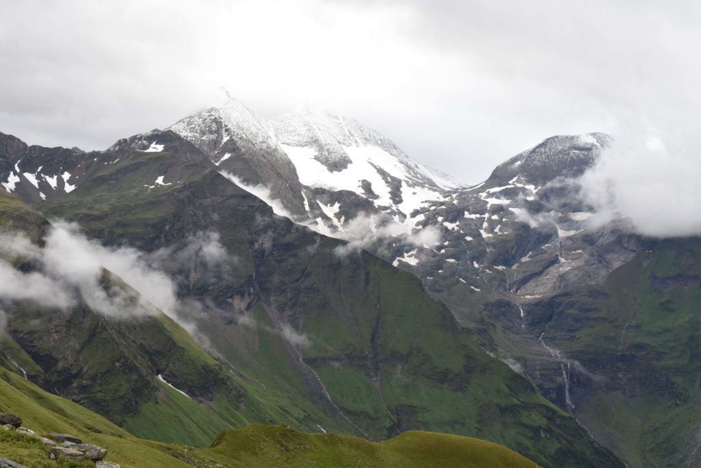 Amazing view on Highest Alpine Road in Austria : Grossglockner Hochalpenstrasse #HighestAlphineRoad #Roadtrip #Austria