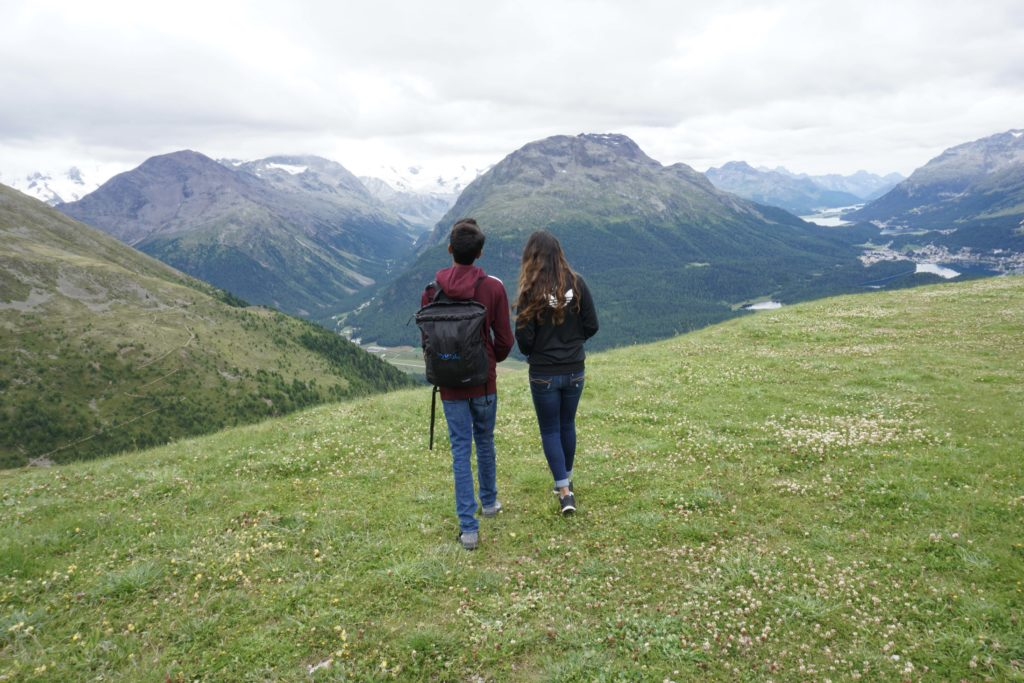 Hiking in the Upper Engadin, Listening to cow bells, trying Walnut tarts : Top Things to do in St. Moritz in Summer #SaintMoritz