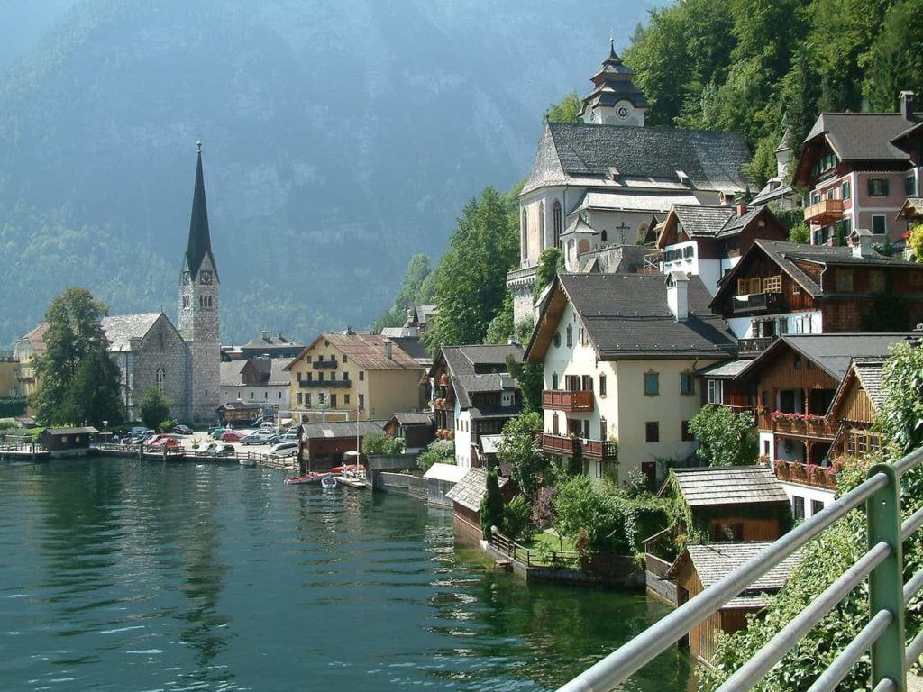 Postcard Perfect town of Hallstatt