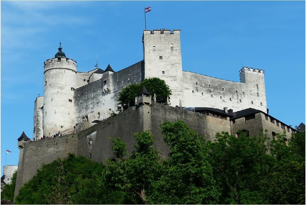 Hohensalzburg Fortress - One day in Salzburg Itinerary - OutsideSuburbia.com