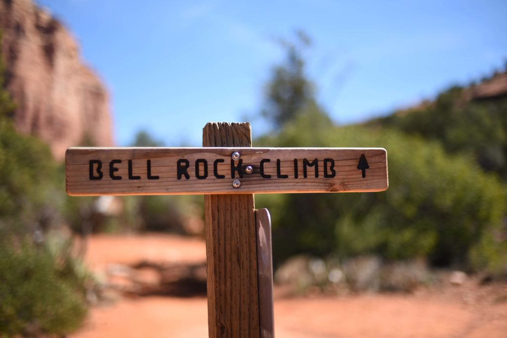 Sedona Vortex hikes, Bell Rock Climb - Photo by Outside Suburbia