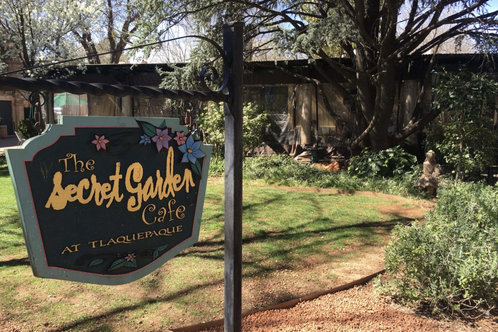 The Secret Garden Cafe, Sedona - Photo by Outside Suburbia