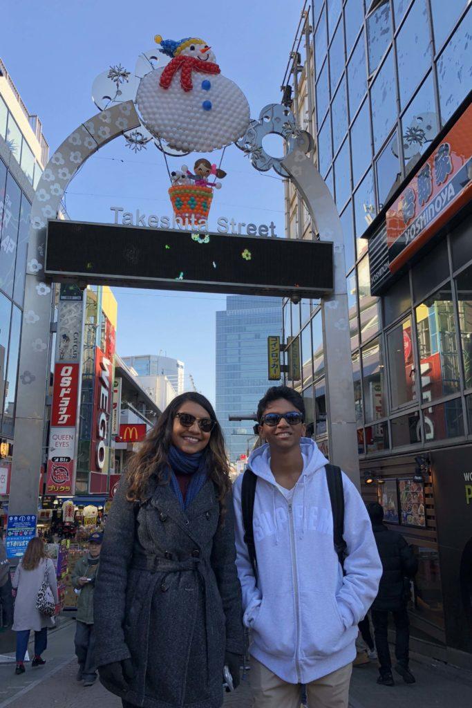 Takeshita Street in Harajuku, Japan Two week Japan Itinerary - Photo by Outside Suburbia