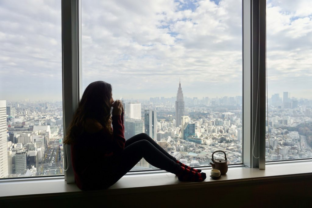 Park Hyatt Tokyo - Two week Japan Itinerary - Photo by Outside Suburbia