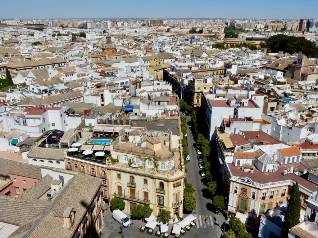 View of Seville rooftops - Photo by OutsideSuburbia.com