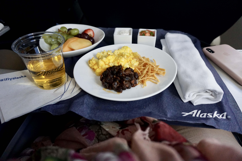 Service on Alaska Airline