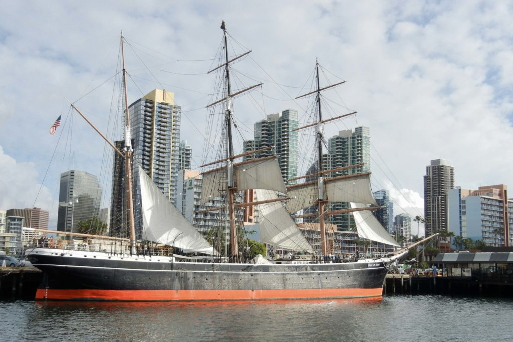 San Diego's Star of India is the world's oldest active sailing ship.
