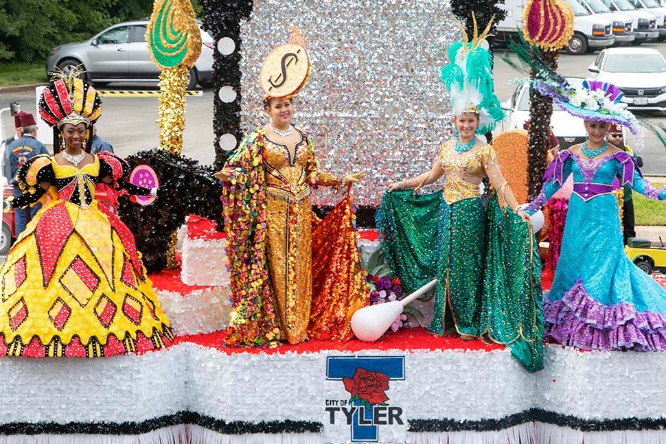 Texas Rose Festival Parade, Tyler , Texas