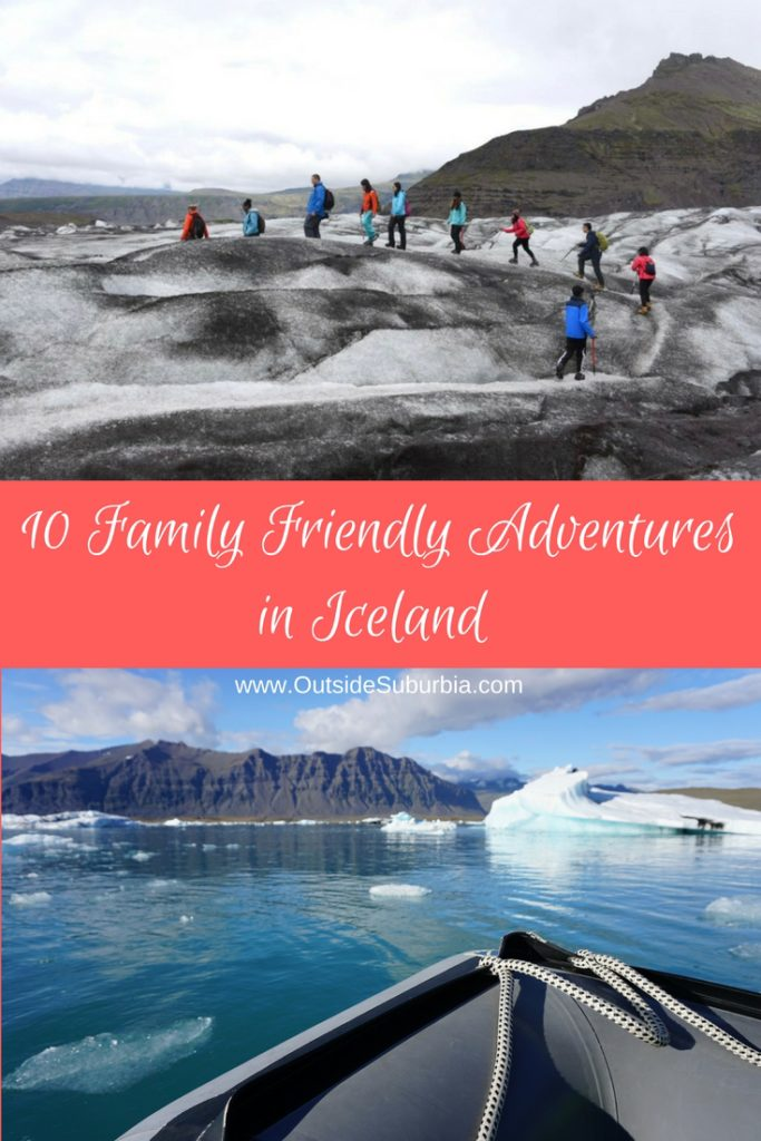From water fall chasing, hiking on glaciers or between tectonic plates to visiting Volcanoes  - there are plenty of easy adventures in Iceland. #IcelandAdventures #FamilyTripIceland #OutsideSuburbia #IcelandAdventures