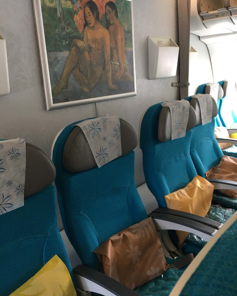 Air Tahiti Nui Interior
