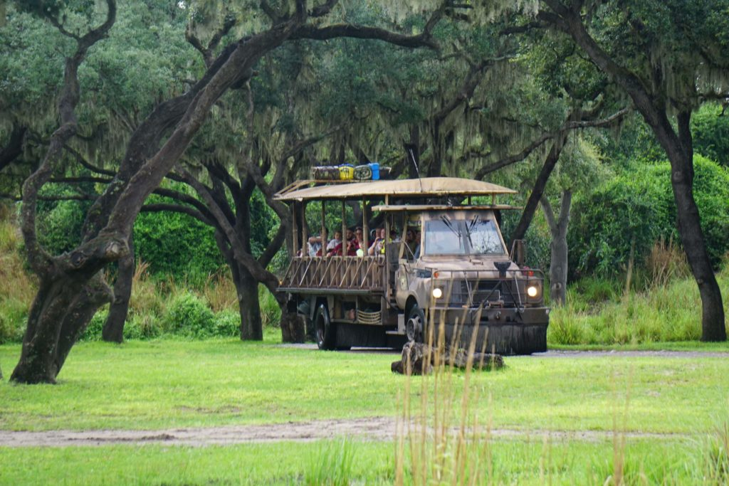 Kilimanjaro Safari Tour : The biggest tour in Disney's Animal Kingdom
