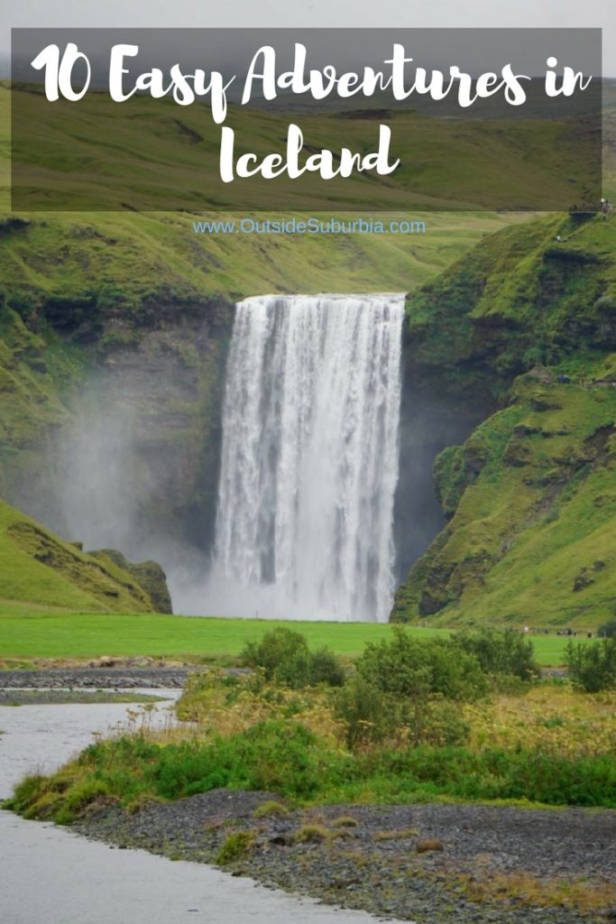 From water fall chasing, hiking on glaciers or between tectonic plates to visiting Volcanoes - there areplenty of easy adventures in Iceland. #IcelandAdventures #FamilyTripIceland #OutsideSuburbia #IcelandAdventures