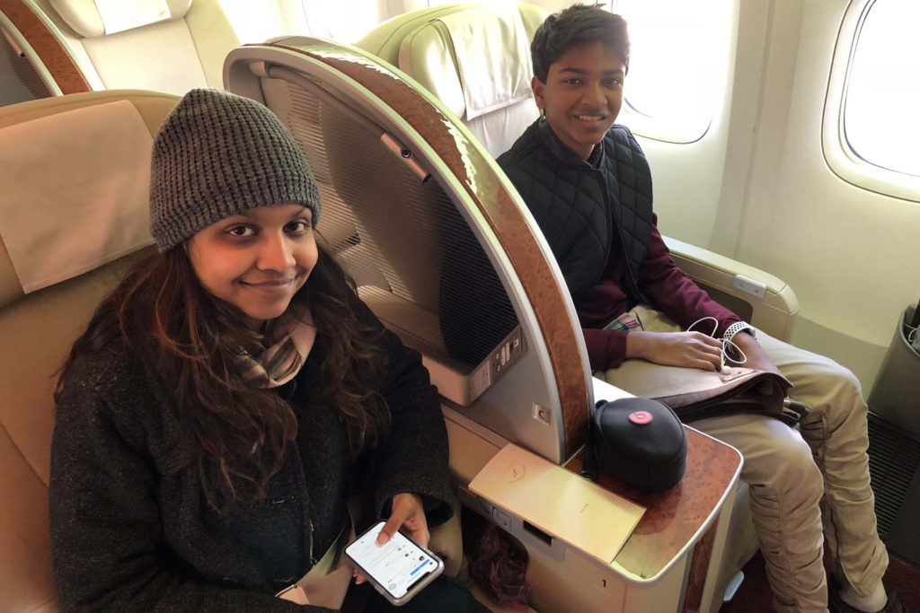 First Class Japan Airlines