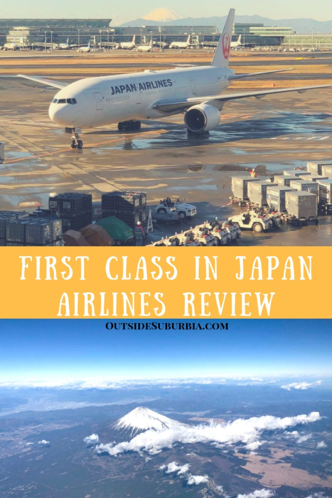 While we were visiting Japan, we took a JAL flight from Haneda to Osaka and here is why we loved First Class in Japan Airlines.  #JAL #AirlineReview