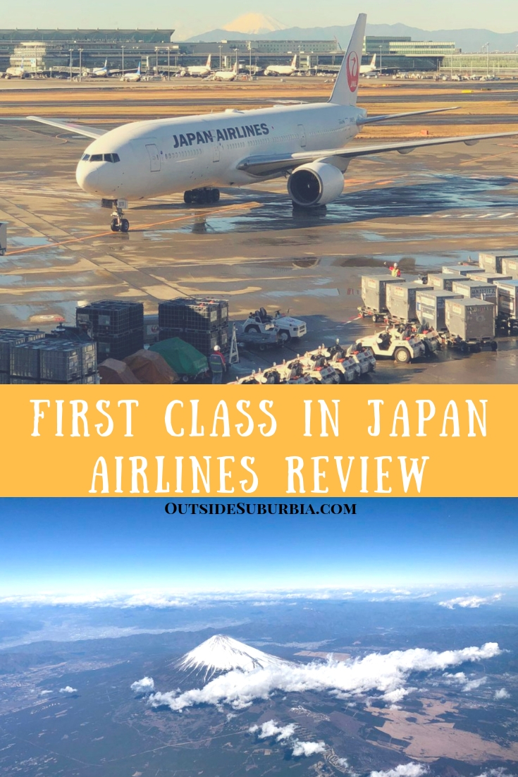 While we were visiting Japan, we took a JAL flightfrom Haneda to Osaka and here is why we loved First Class in Japan Airlines. #JAL #AirlineReview