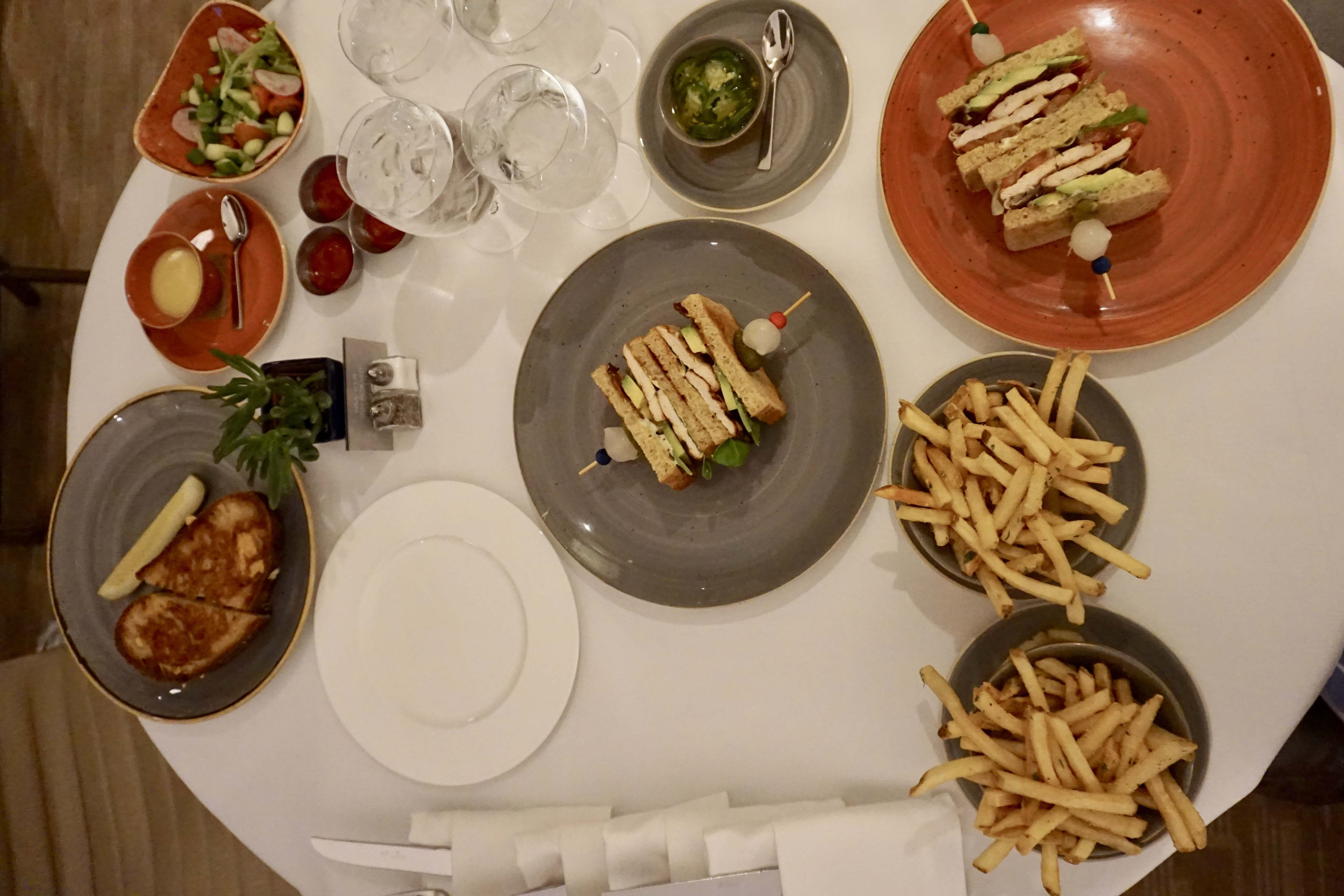 Late-night room service at Four Seasons Denver
