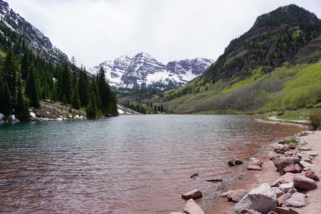 Maroon Bells Colorado in Summer #MaroonBells