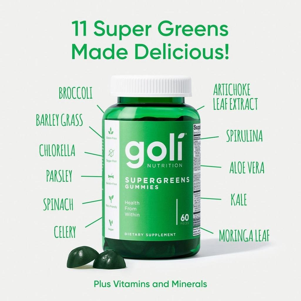 Supergreens Gummies by Goli