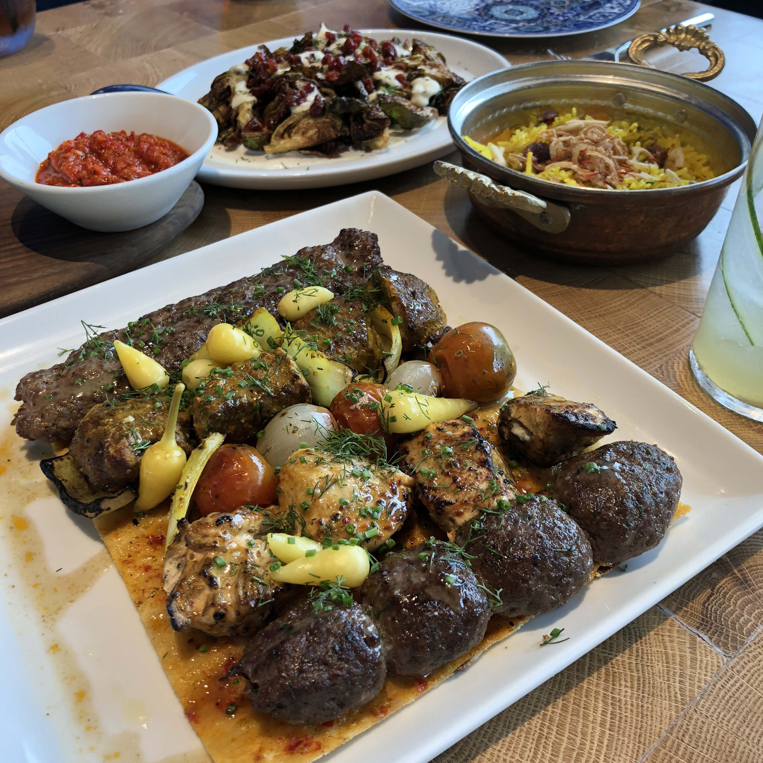 Best International Restaurants Dallas : Zaytina for Mediterranean vibes