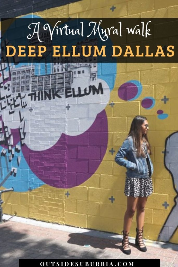 Deep Ellum Murals: DIY Walking tour with Map of an Art walk in Dallas