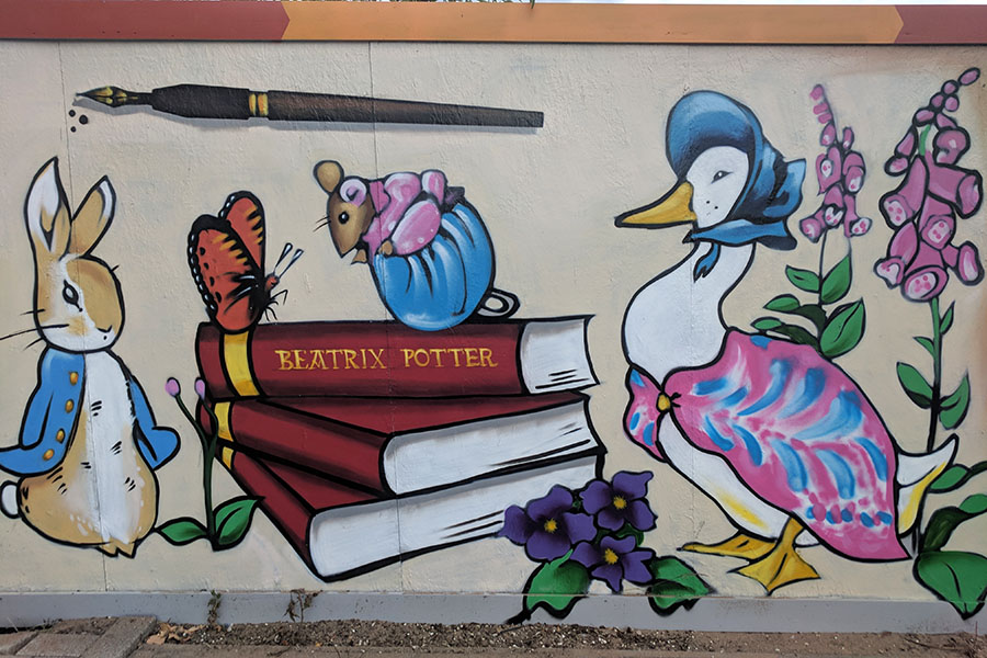 Stuart Forster Street Art - Gateshead  | Outside Suburbia