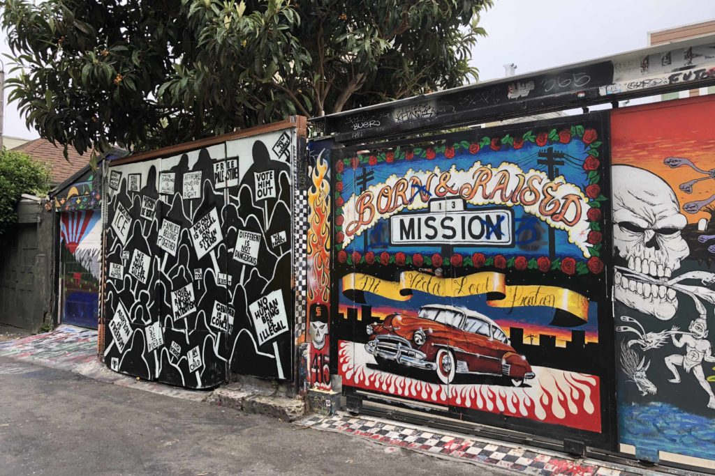 Best Street Art in San Francisco: Mission District- Photo by Outside Suburbia