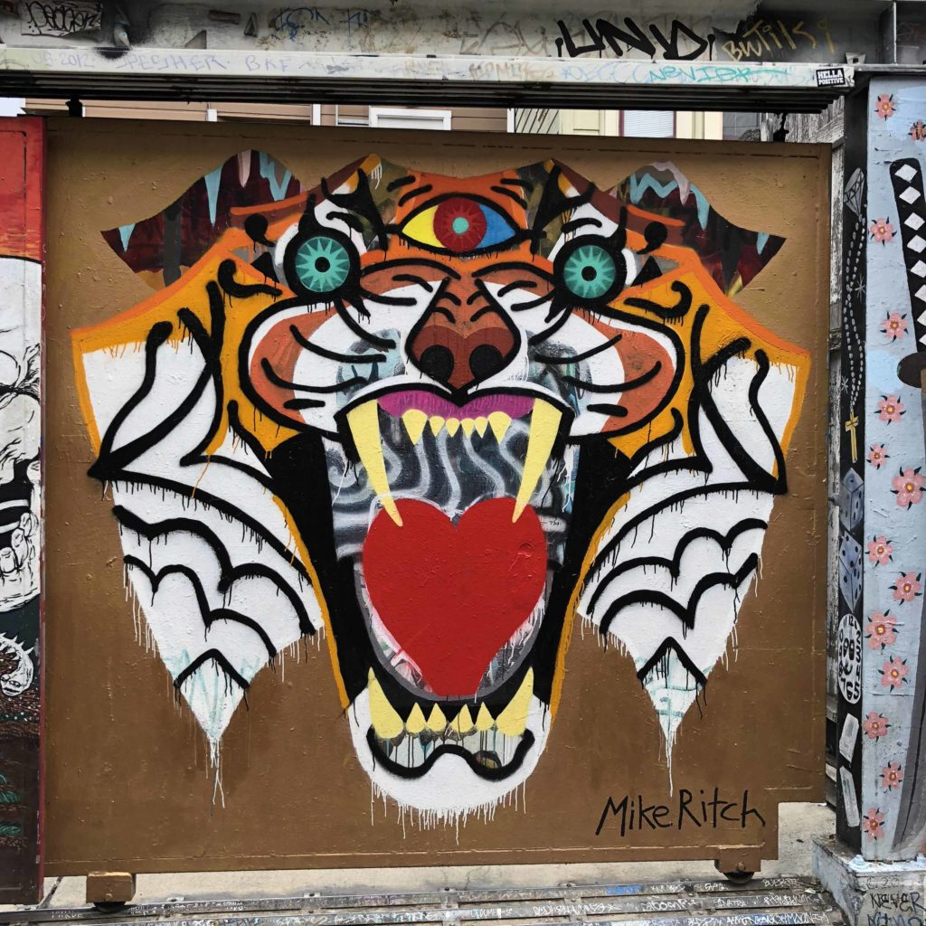 Best murals San Francisco at Clarion Alley inMission District| OutsideSuburbia