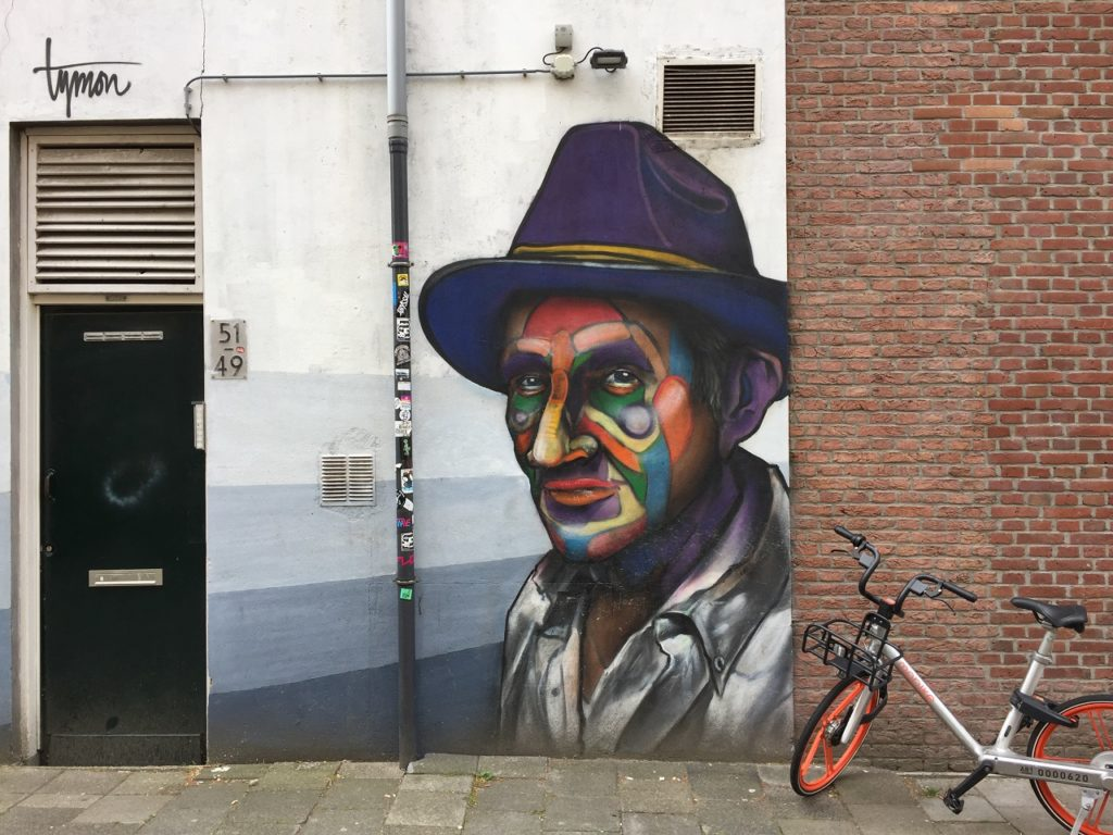 Street Art in Rotterdam, Netherlands