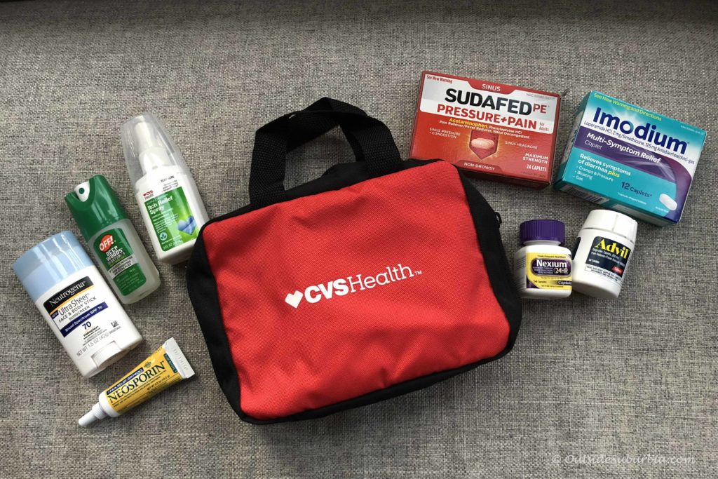 Travel First Aid Kit - A medical kit with some basics is essential in case of emergencies - Outside Suburbia